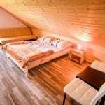 Domki - sypialnia