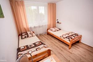 parter w domu prywatnym z osobnym wejściem - sypialnia