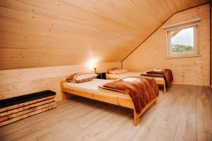 sypialnia w domku nr 3